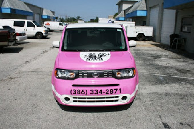 Ft Lauderdale Nissan >> Fort Lauderdale Nissan Cube Car Wrap The Dust Bunnies