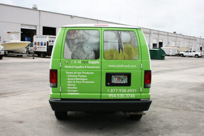 3M Vinyl Vehicle Wrap Sunrise Fort Lauderdale Florida