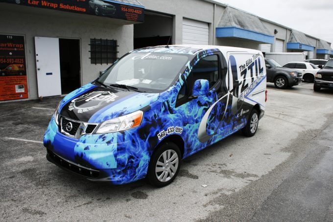 Nissan NV 200 3M Vinyl Vehicle Wrap West Palm Beach Florida