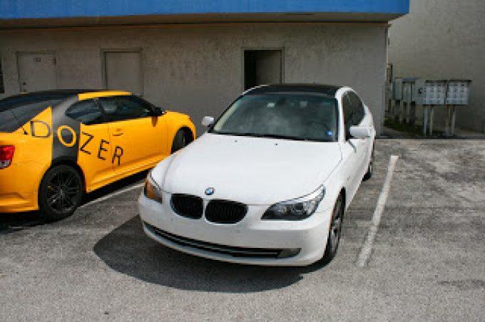 BMW 3M Scotchprint Vinyl Wrapped Panoramic Roof Wrap Miami Florida