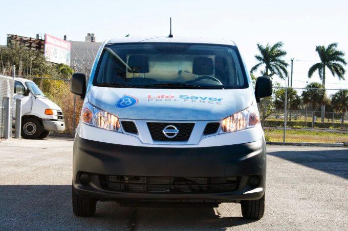 Fort Lauderdale Florida Nissan NV200 Vinyl 3M Vehicle Wrap