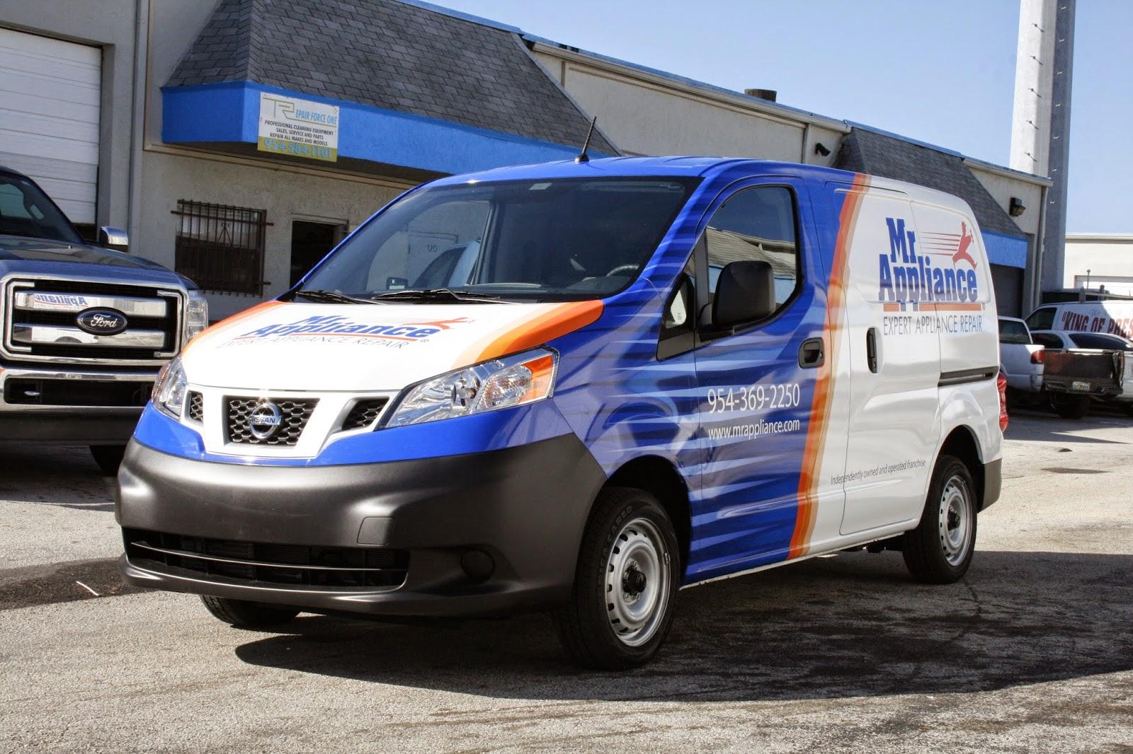 Nissan Nv200 Van 3m Vinyl Vehicle Wrap 3m Certified Installation