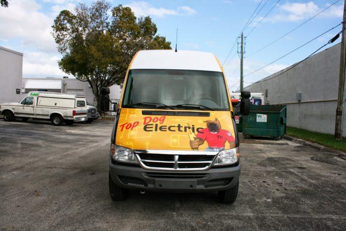 Pembroke Pines Freightliner Sprinter 3M Vinyl Vehicle Wrap by Car Wrap Solutions