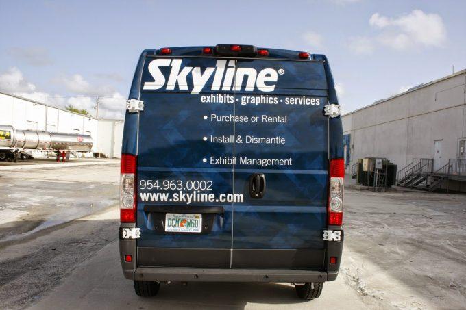 Dodge Promaster Van Vinyl Wrap Davie Florida by Car Wrap Solutions