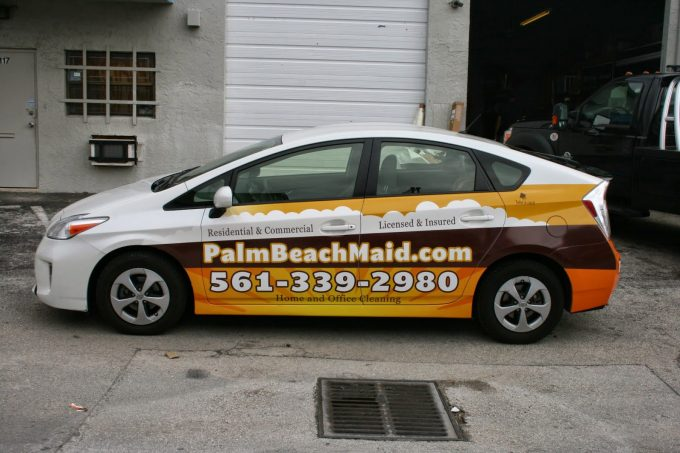 3M Preferred Graphic Installation for Boca Raton Florida by Car Wrap Solutions