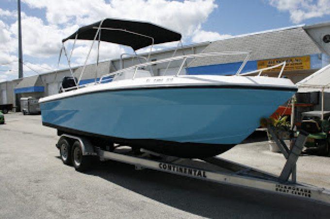 Color Change Boat Vinyl Wraps Davie Florida by Car Wrap Solutions