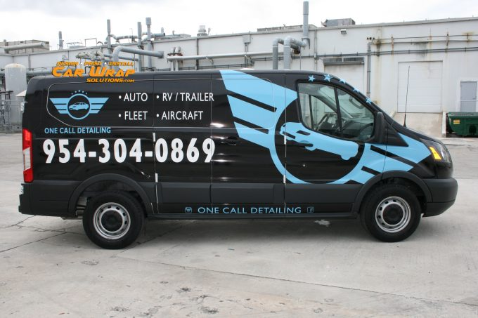 Ford Transit Van Local Small Business Wrap Advertising Boca Raton Florida