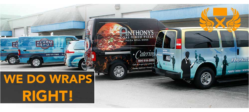 Commercial Fleet Vinyl Wraps & Graphics, Miami, Fort Lauderdale, Palm Beach, Florida