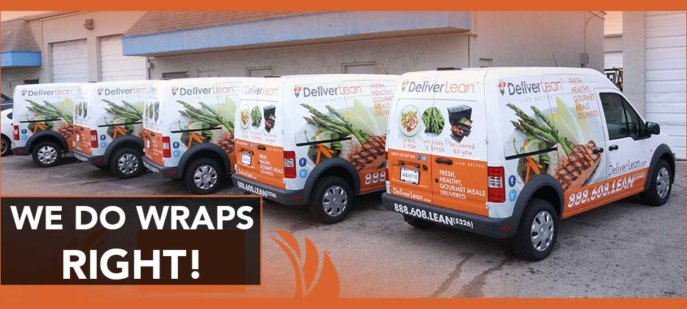 Fleet Wraps & Graphics Fort Lauderdale, Davie, Dania Beach, Miami, West Palm Beach, Florida