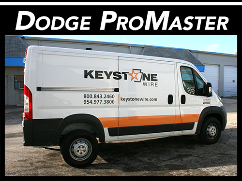Fort Lauderdale, Miami, West Palm Beach Dodge Promaster Van Vinyl Wraps & Graphics