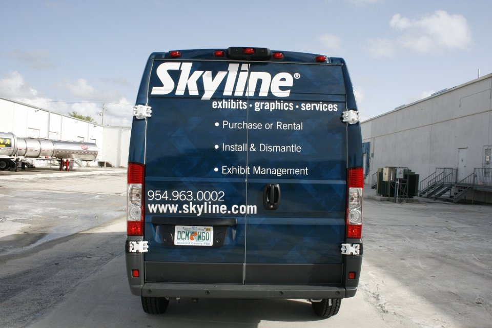 Dodge Ram Promaster >> Ram Promaster Vans Vehicle Wraps, Graphics & Lettering