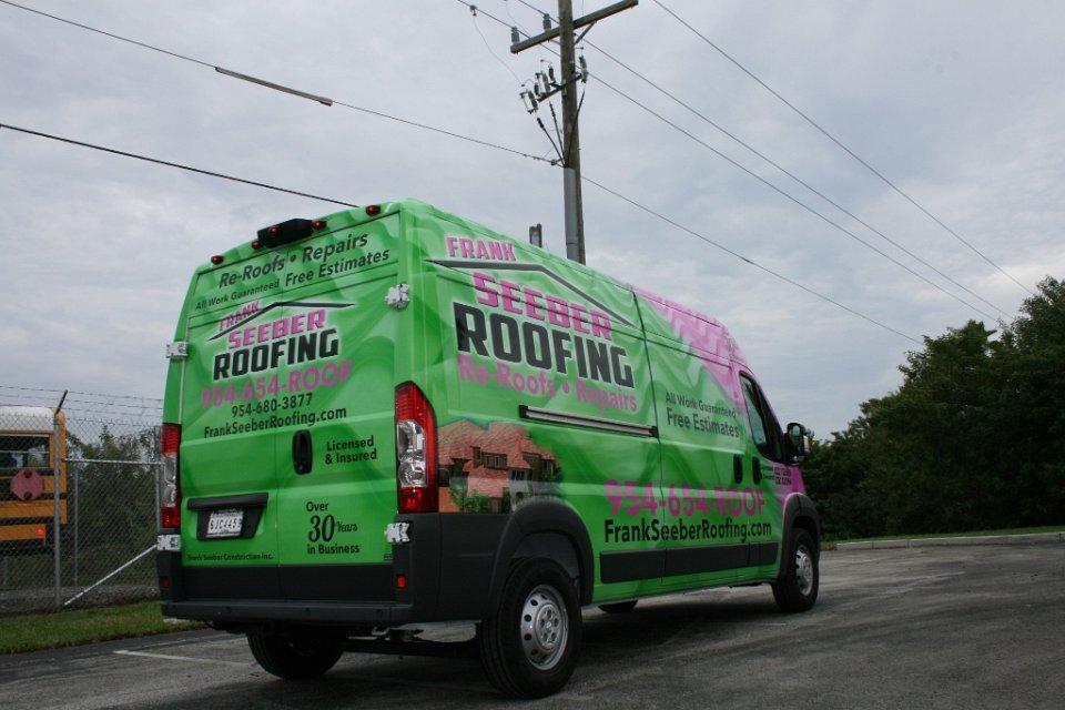 Dodge Promaster Graphics Fort Lauderdale Florida