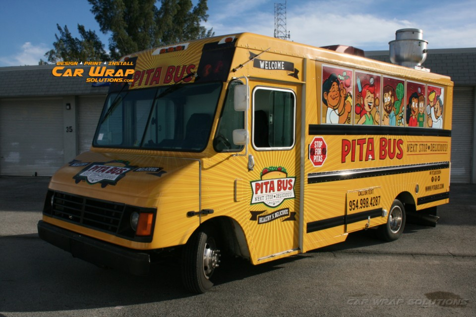 Food Truck And Concession Trailer Food Truck Wraps Fort