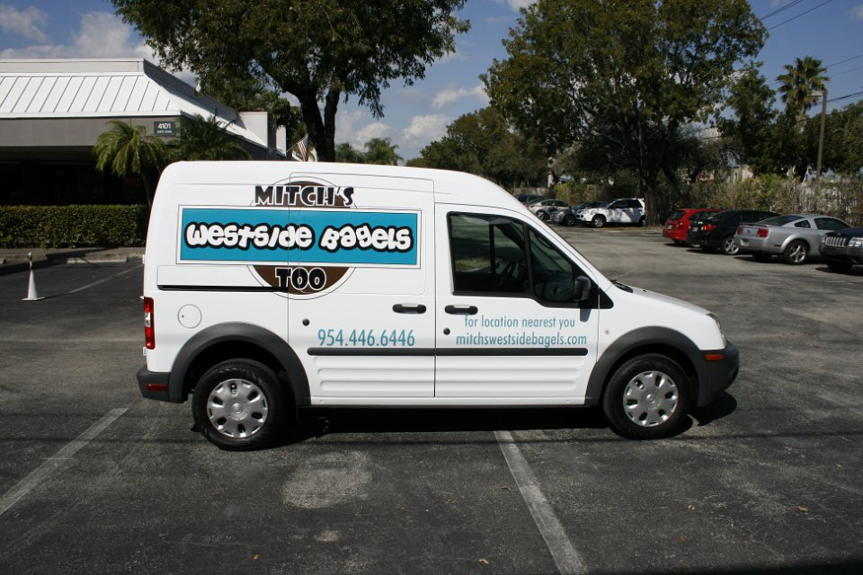 Ford Transit Connect Vehicle Wrap Weston Florida