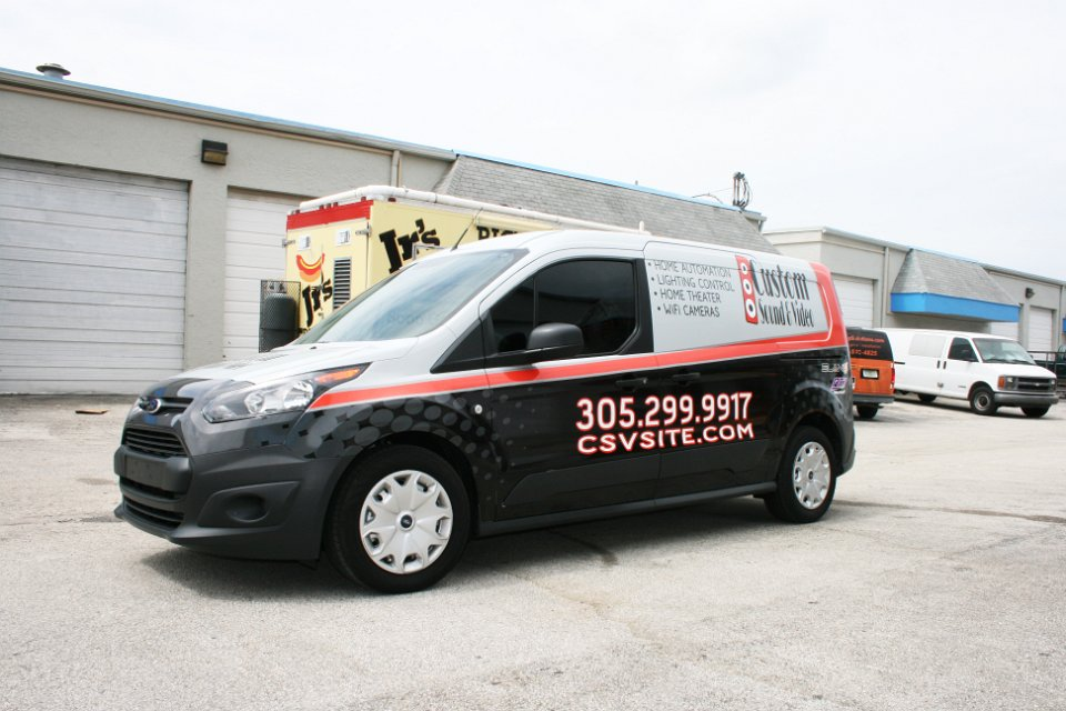 Ford Transit Connect >> Ford Transit Connect Wrap Graphic Design