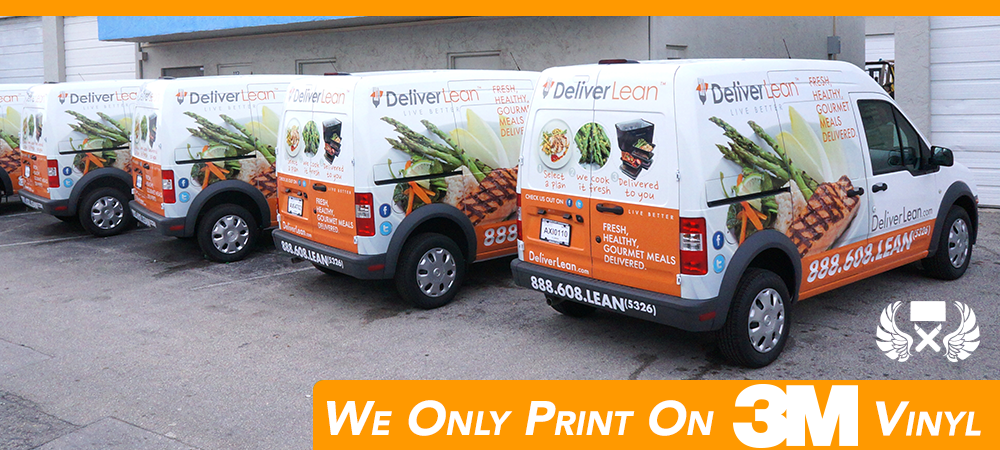 Ford Transit Connect van vehicle wrap & graphicinstallations Fort Lauderdale, Miami, Boca Raton, West Palm Beach, Florida