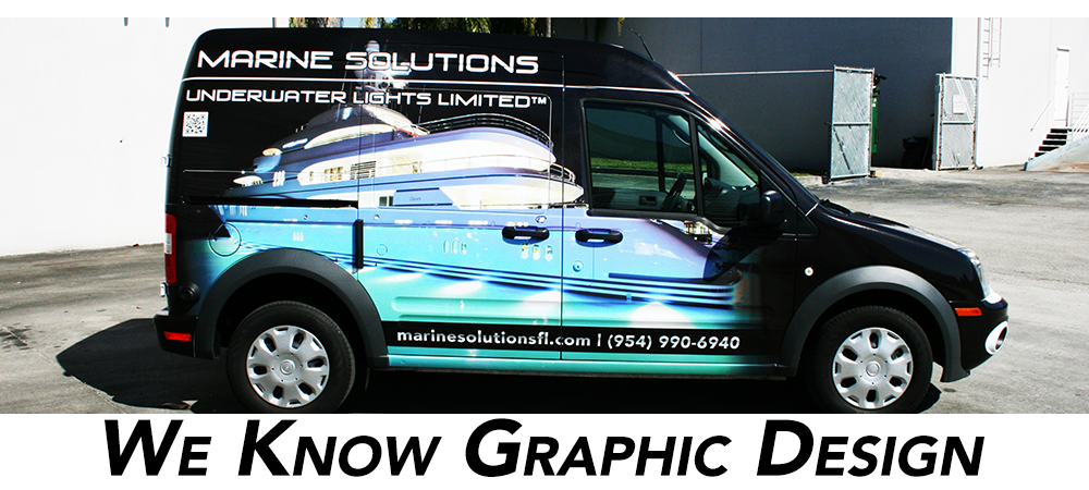 Ford Transit Connect Car Wrap Graphic Design Miami Fort Lauderdale Palm Beach