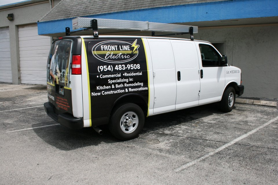 Dodge Commercial Van >> Davie Florida car wrap by Car Wrap Solutions