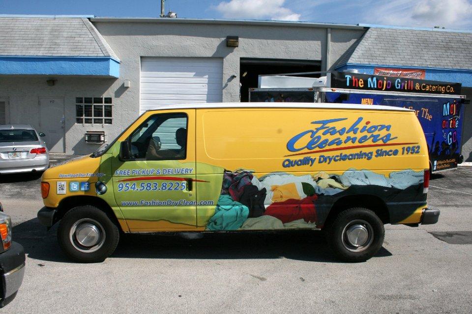 Ford & Chevrolet Commercial Work Van Wraps, Graphics & Lettering