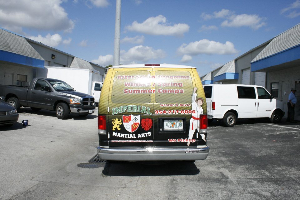 Ford Van Vehicle Wrap Fort Lauderdale