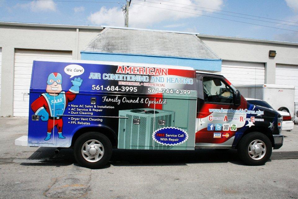 Kuv Van Body Wrap Palm Beach Florida