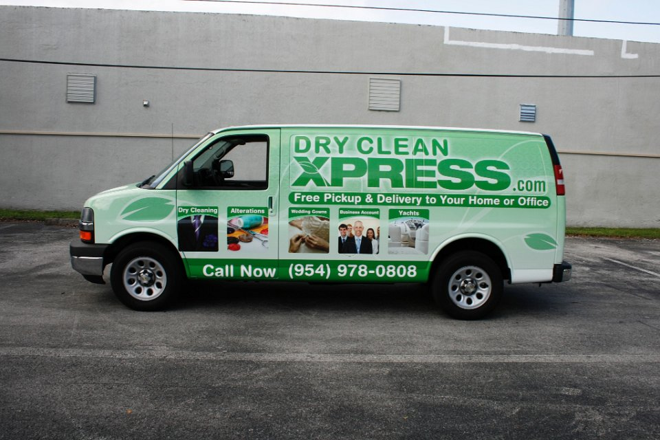 Margate Fl Chevy Van Vehicle Wrap