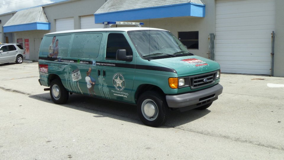 Dodge Commercial Van >> Police vehicle wrap Broward Sheriffs Office Weston Florida