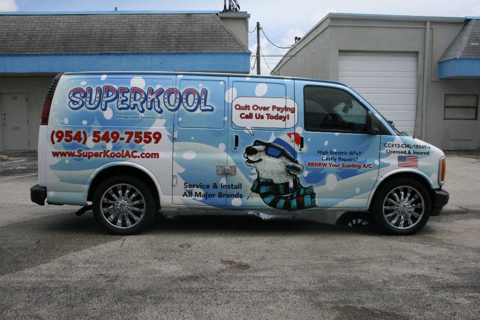 Van 3m Vehicle Wrap Davie Florida