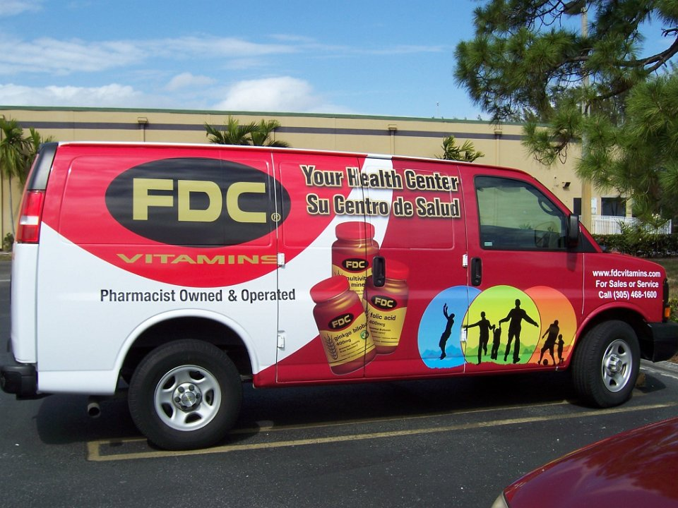 Van Wrap Advertising Miami Florida