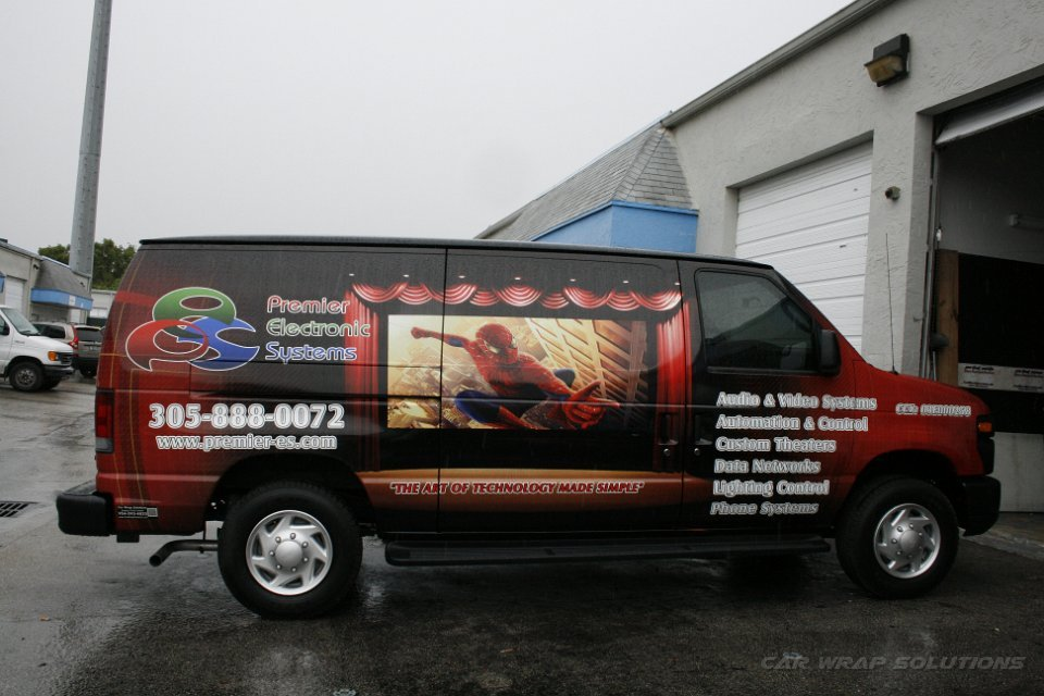 Car Wrap For Audio Visual Small Business