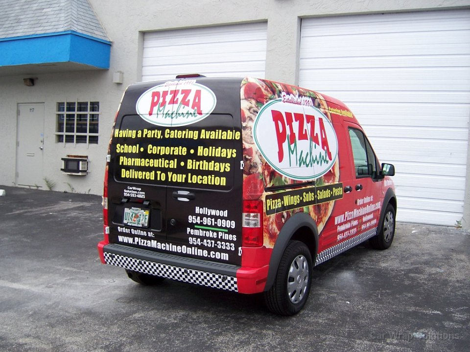 Ford Transit Connect >> Ford Transit Connect Graphics Pembroke Pines Florida