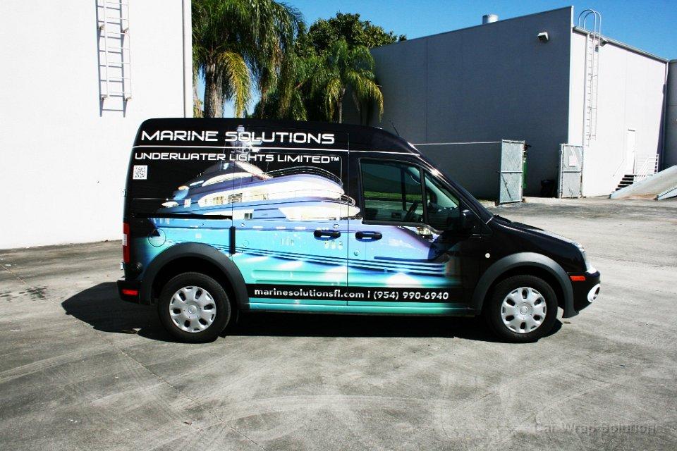 Ford Transit Connect Van Wrap Davie Florida