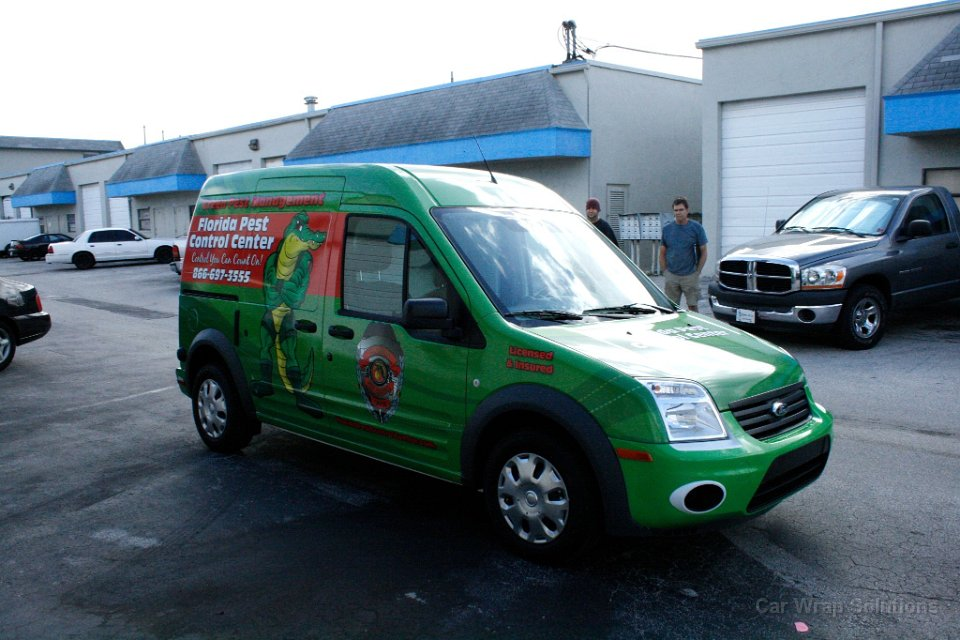 Ford 20Transit 20Connect 20Vehicle 20Wrap 20Sunrise 20Florida on van wraps graphics
