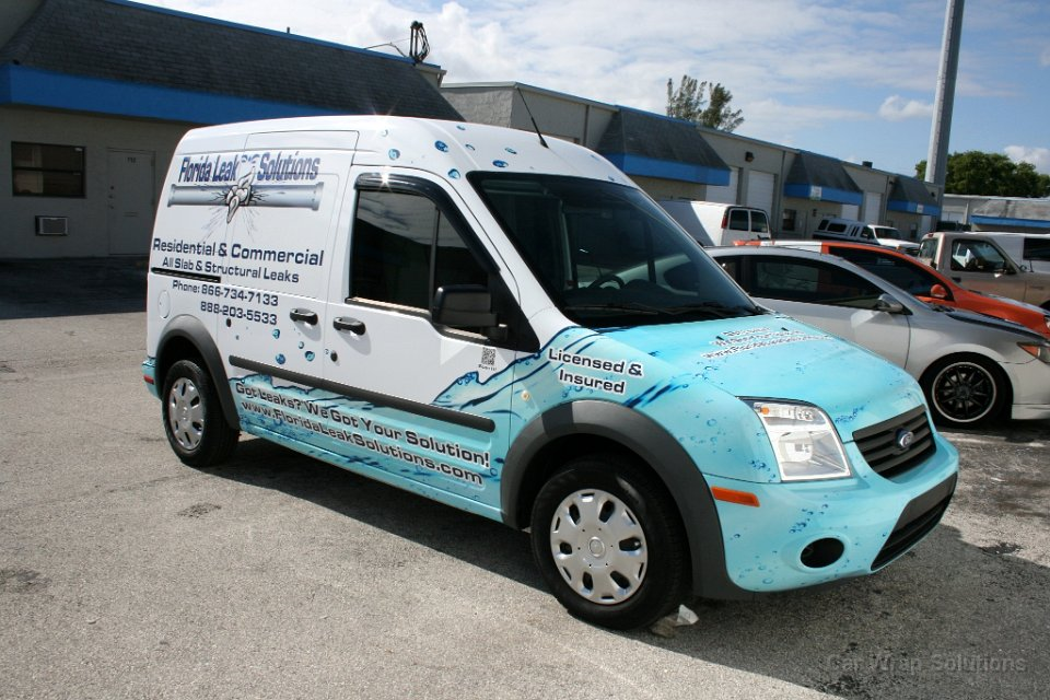 Ford Transit Connect >> Ford Transit Connect Vinyl Decals Fort Lauderdale Florida