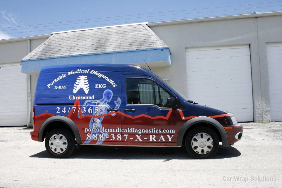 Ford Transit Connect Wrap West Palm Beach