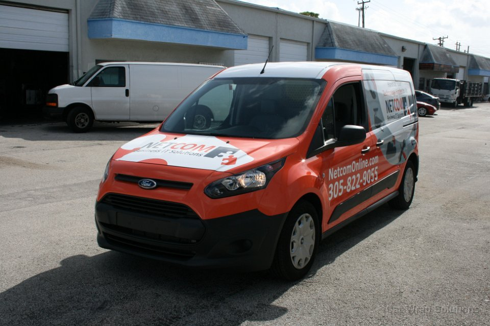 ford transit connect vehicle wrap miami. Black Bedroom Furniture Sets. Home Design Ideas
