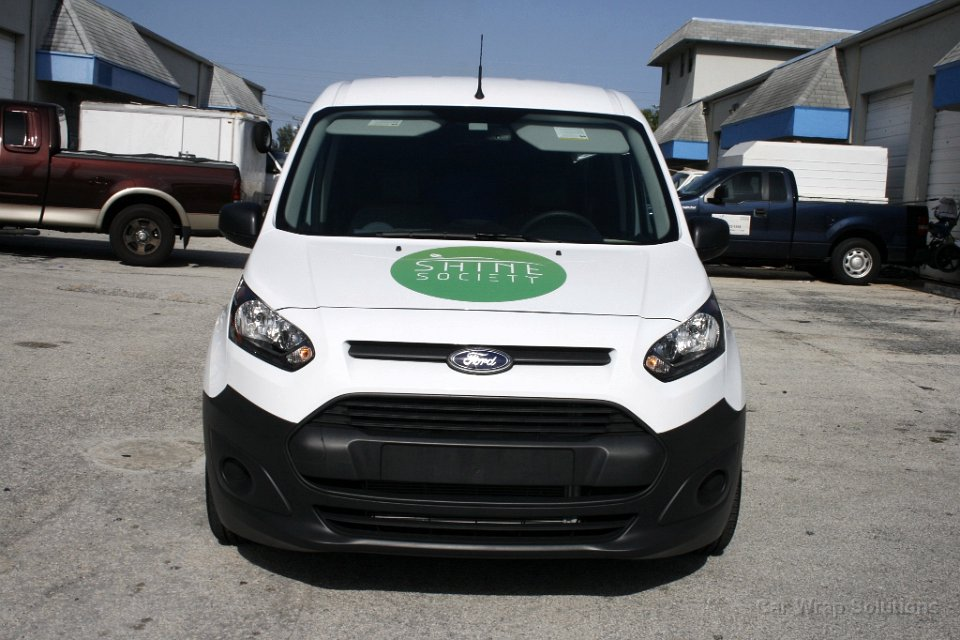 Ford Transit Connect >> Ford Transit Connect vinyl wrap