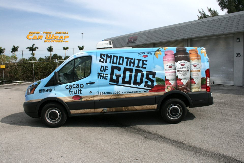 Ford Transit Van Wrap Advertising