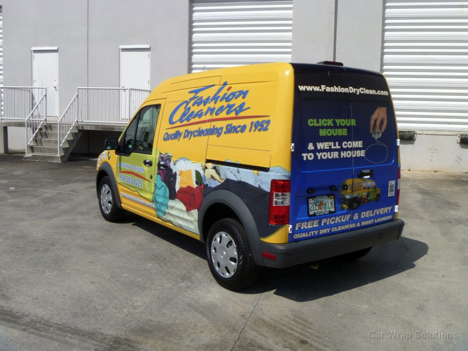 Fort lauderdale car wrap ford transit connect for Vinyl wrap templates