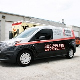 Ford Transit Connect Van Wrap Advertising for Local Distibuter