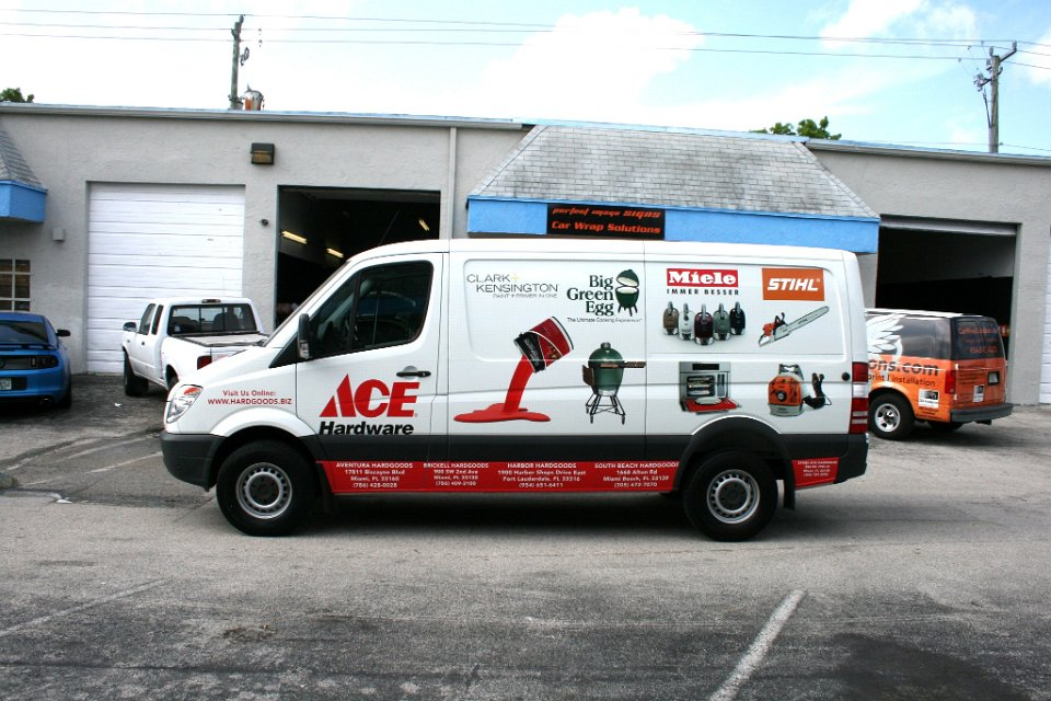 Mercedes Benz Sprinter 3m Wrap Fort Lauderdale Florida