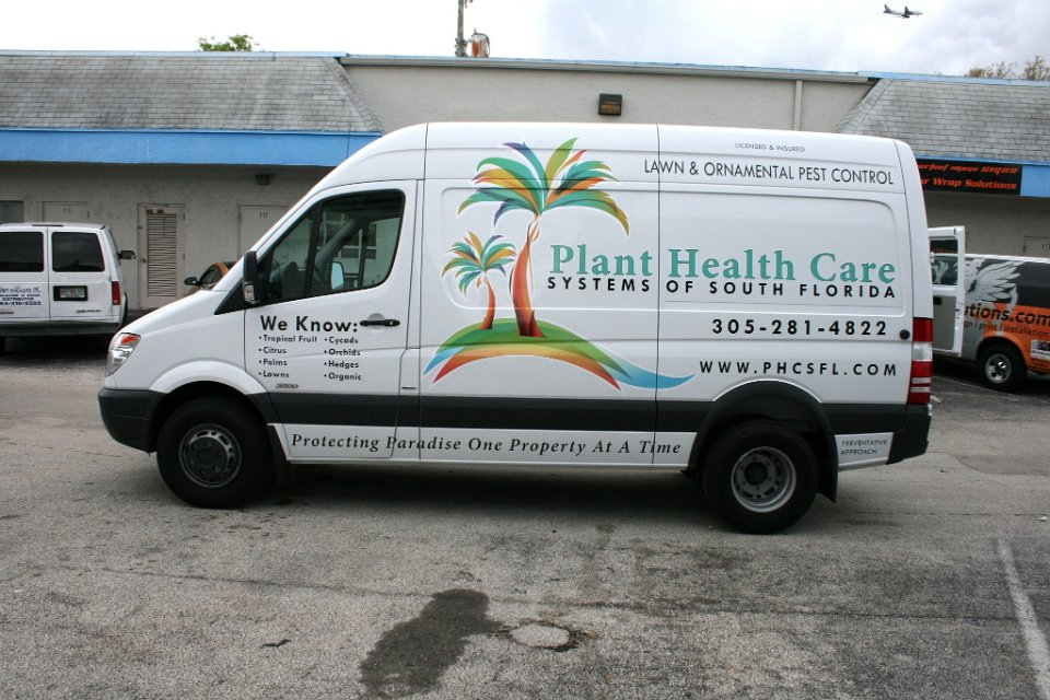 Mercedes Sprinter Vehicle Wrap Miami Florida