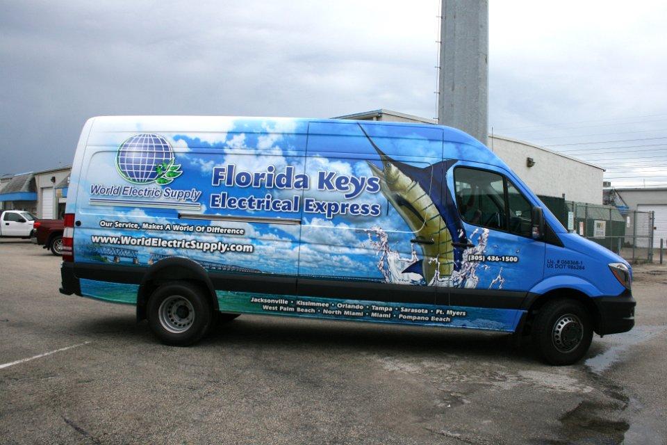 Sprinter Van Graphics Keys Florida