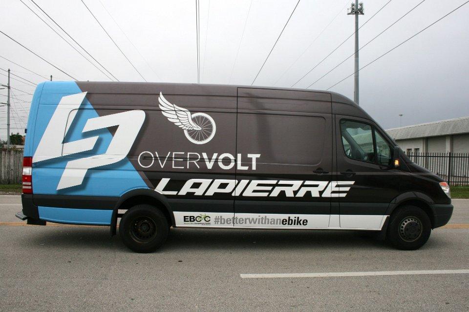 Commercial sprinter van vehicle wrap for Mercedes benz work van commercial