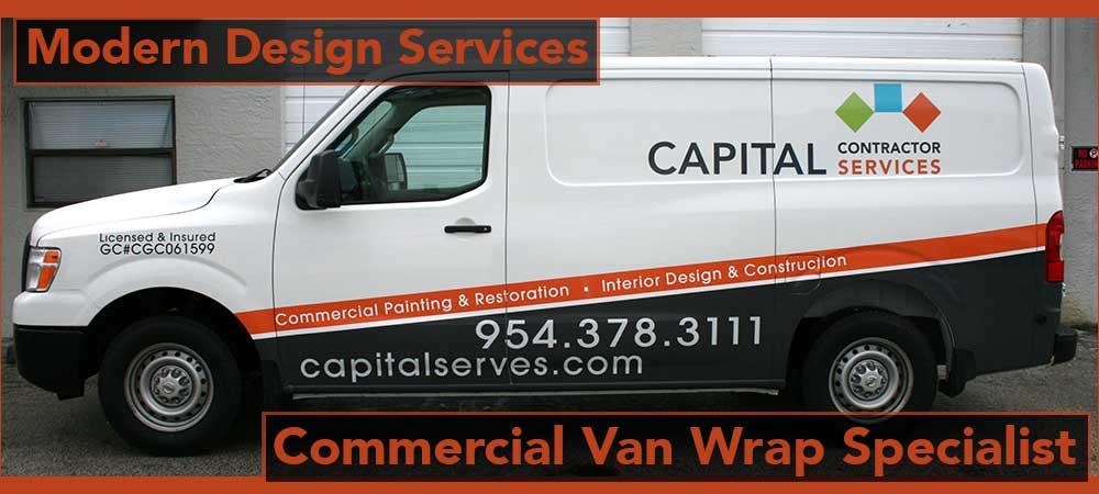 Nissan Nv Vans Vehicle Vinyl Wrap Advertising Graphics