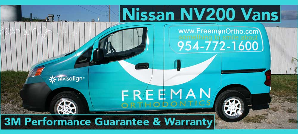 Nissan NV Van Graphics Davie, Fort Lauerdale, Hollywood, Weston, Florida