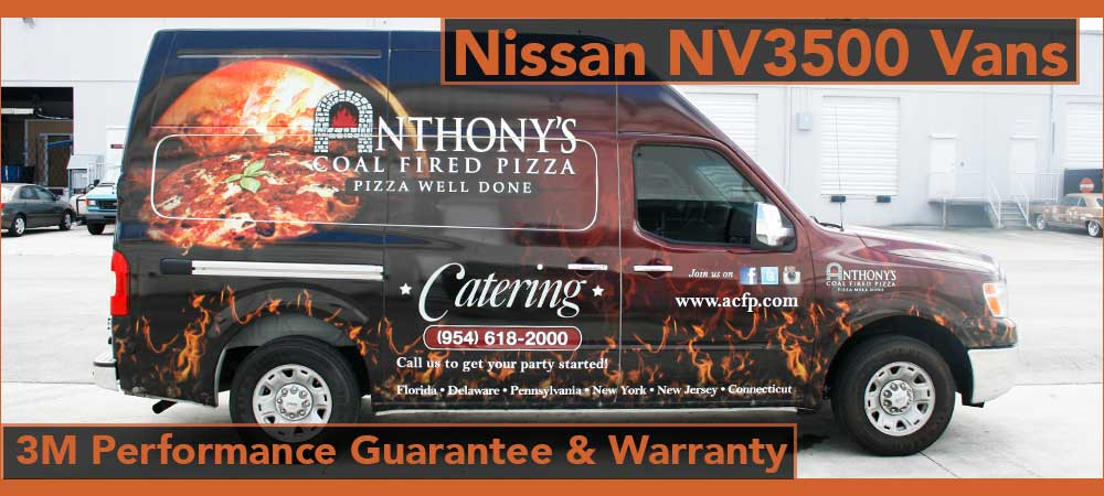 Weston Nissan NV Van Commercial Vehicle Wraps