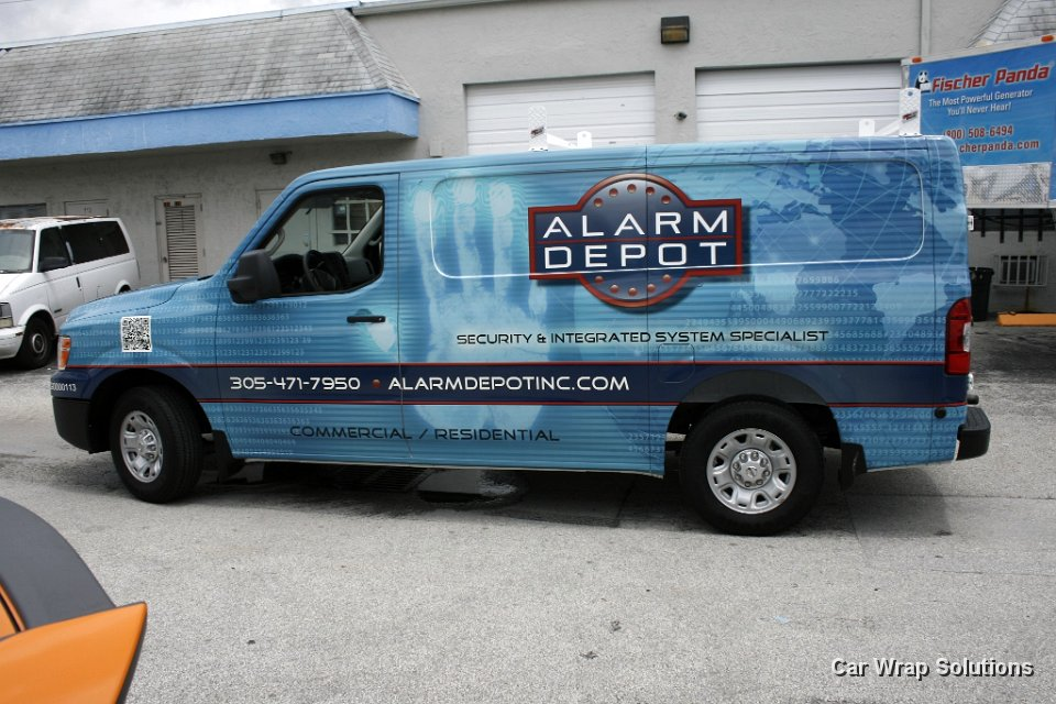 Nissan NV Vans Commercial Vinyl Wraps, Graphics & Lettering