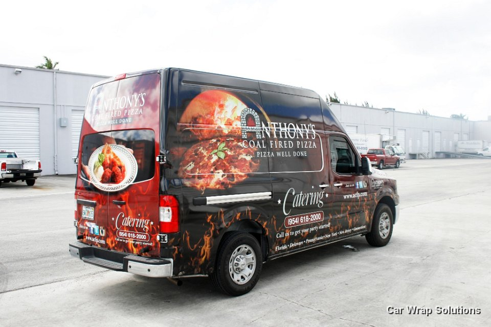Car Wrap Vinyl >> Nissan NV Vans Commercial Vinyl Wraps, Graphics & Lettering