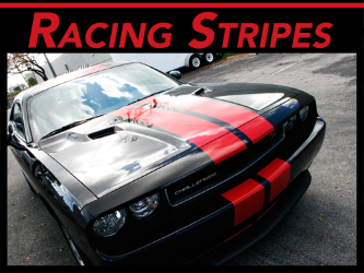 Fort Lauderdale, Miami, Palm Beach Gardens Vinyl Racing Racing & Rally Stripes